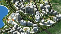 A design of the software park in Hanoi. File photo