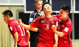 Minh Tri hat-trick helps Vietnam beat Guatemala on Futsal World Cup debut