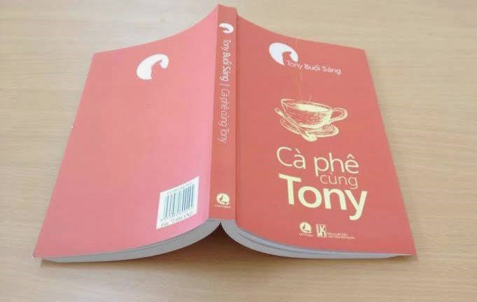 "Tony Morning had his first big break last fall when ""Coffee with Tony,"" a collection of his most popular Facebook writings, was published. Photo courtesy of Lantabra."