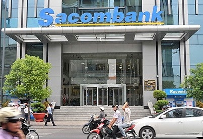 The headquarters of Sacombank in District 3, Ho Chi Minh City