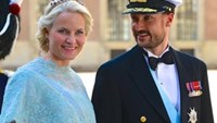 Norway's Crown Prince Haakon (R) and wife. Photo: Wikipedia