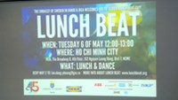 Lunch Beat shakes up Ho Chi Minh City 'work-day heroes'