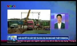 Chaos at Formosa mill resolved: Vietnam province official