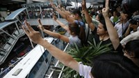 Thailand's Hunger Games salute