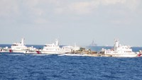 Chinese vessels continue hindering Vietnamese fishing boats