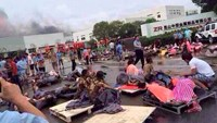 Factory blast in east China kills at least 65: TV