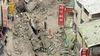 Cleanup begins after explosions in Taiwan