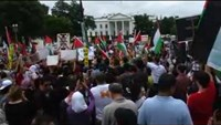Thousands of pro-Palestinian supporters rally in DC
