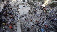 Censured over shelter deaths, Israel declares seven-hour Gaza truce
