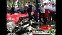 Plane crashes at Tehran's Mehrabad airport; at least 38 reported dead