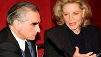 Director Martin Scorsese (L) and actress Lauren Bacall address a news conference in New York, in this file picture taken April 14, 1997. Film actress Lauren Bacall has died at the age of 89, the estate of the Bogart family said on August 12, 2014. Photo: