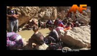 Aid delivered to Yazidis hiding in Iraqi mountains