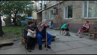 Shelling in Donetsk as Ukrainian troops close in
