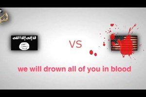 "Islamic State message to Americans: ""We will drown all of you in blood"""