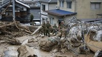 Landslides hit Japan's Hiroshima, killing at least 27