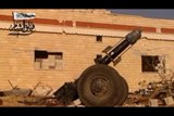 "Syrian rebels introduce the ""hell cannon"""