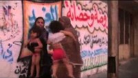 Panicked Gazans bundle into ambulances after massive Israeli air strike