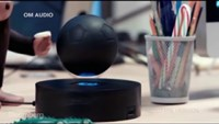 Levitating speaker turns sci-fi into hi-fi