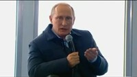 Putin compares Kiev to Nazi Germany