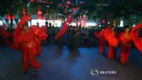 Beijing aunties perform dance to mark Japan WWII surrender
