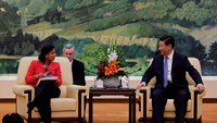 US National Security Adviser Rice meets China's Xi