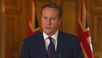 "UK's Cameron vows to destroy Islamic State ""monsters"""