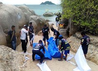 Two British nationals found dead on Thai beach