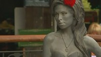 Statue of Amy Winehouse is unveiled in North London