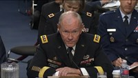 "Dempsey says U.S. strikes in Syria won't be ""shock and awe"""