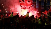 Tensions rise in Glasgow after historic Scotland vote