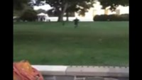 Man jumps White House fence, reaches doors