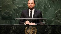 DiCaprio fights for planet earth