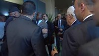Abbas staff scuffle with UN security on UNGA opening day