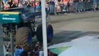 Monster truck crashes into crowd, killing two in the Netherlands