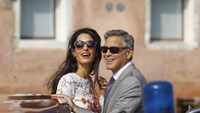 Clooney marries in Venice