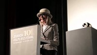 Actress Diane Keaton receives Golden Icon Award at the Zurich Film Festival
