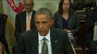 "Obama: ""Chances of Ebola outbreak in U.S. extremely low"""