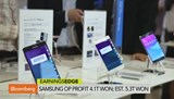 Samsung operating profit 4.1T won; est. 5.3T won