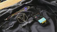 Smart Jacket to monitor health and fitness on the run