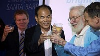 Nobel Prize for Physics winner happy to see dream become reality, says he's thankful for 'American dream'
