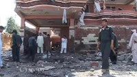 Suicide bomber blamed for Afghan blast