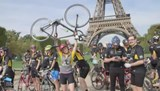 Networking in Lycra while biking from Paris to London