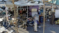 Market hit in Iraq blast