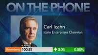 Carl Icahn: Apple is so cheap, a buyback makes sense