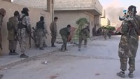 Amateur video show IS militants fighting in Kobani