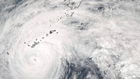 Satellite images show Vongfong from space