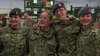 British Army medics pack their bags to deploy to West Africa