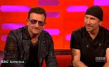U2's Bono says glaucoma is reason for trademark sunglasses