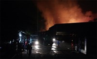 Fires consume warehouses, restaurants in Vietnam capital