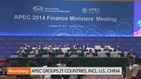 APEC Finance Ministers to spend on infrastructure